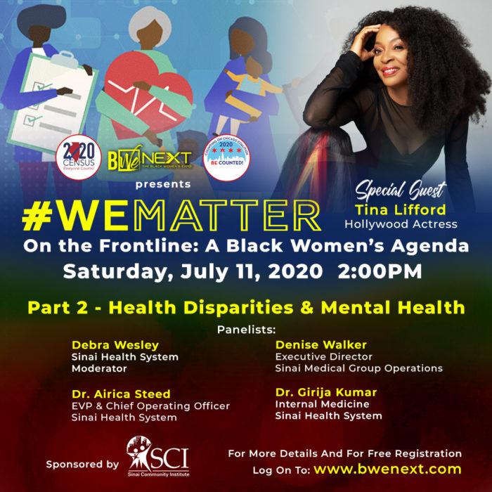 Part 2 - Health Disparities & Mental Health